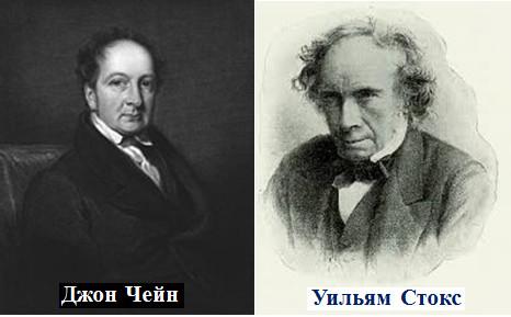 Джон Чейн и Уильям Стокс